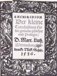 Luther's Small Catechism cover