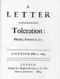 A Letter Concerning Toleration cover