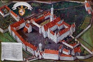 Schussenried Abbey cover