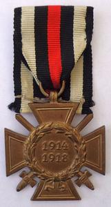The Honour Cross of the World War 1914/1918 cover