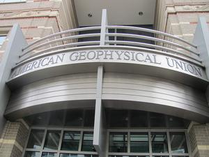 American Geophysical Union cover