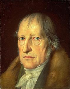 Georg Wilhelm Friedrich Hegel cover