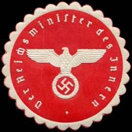 Ministry of the Interior of the German Reich cover