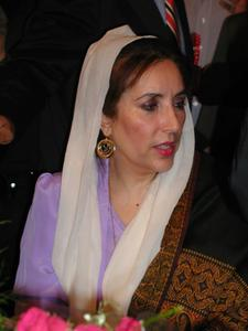 Benazir Bhutto cover
