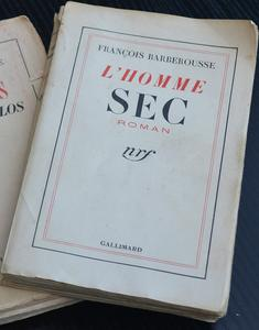 L'Homme sec cover