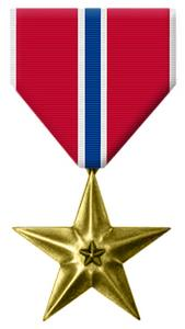 Bronze Star Medal cover